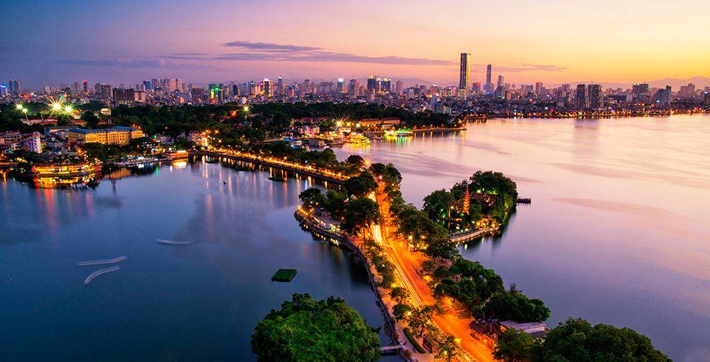 Conocerás el itinerario en Hanói