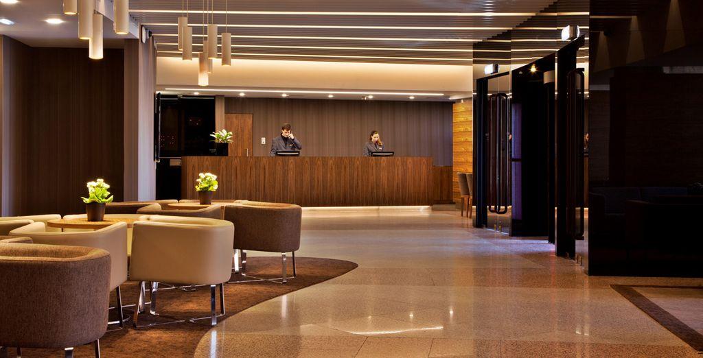 Te alojarás en el Olaias Park Hotel 4*
