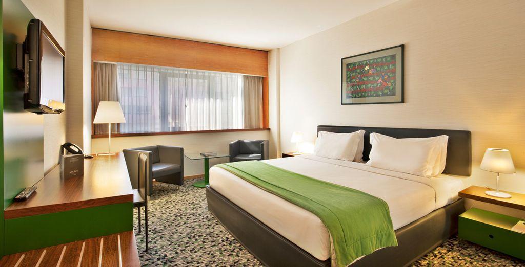 Amplias y confortables estancias para que descanses como te mereces