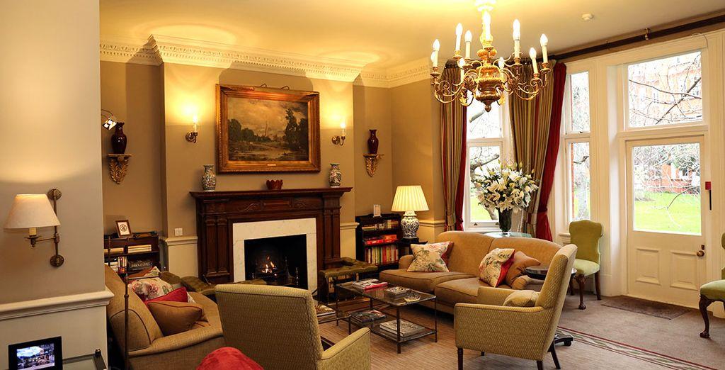 Alojamiento de lujo con la tradicional elegancia británica