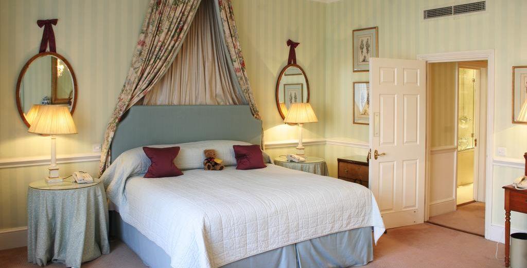 También puedes reservar una Suite en el segundo paso de la compra