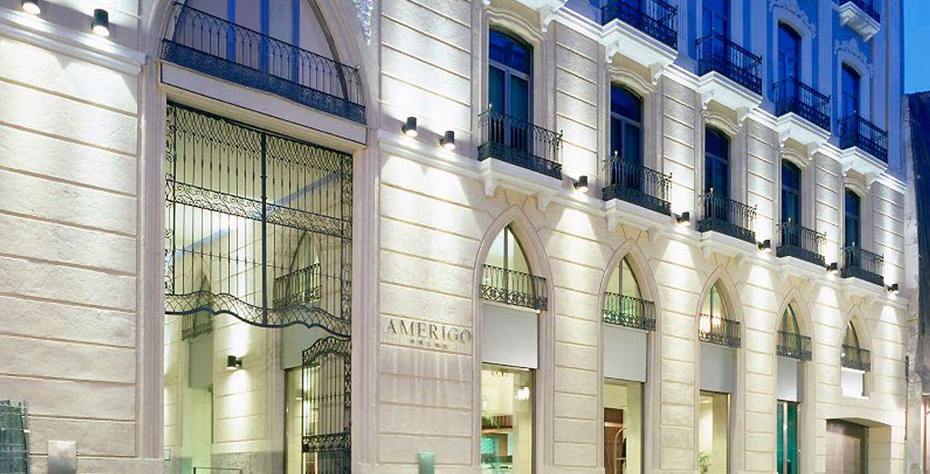 Hotel Hospes Amérigo 5* se ubica en el corazón histórico de Alicante