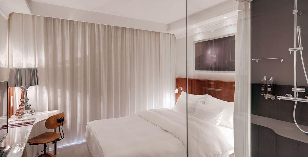 Recibirás una mejora a habitación Lovely según disponibilidad