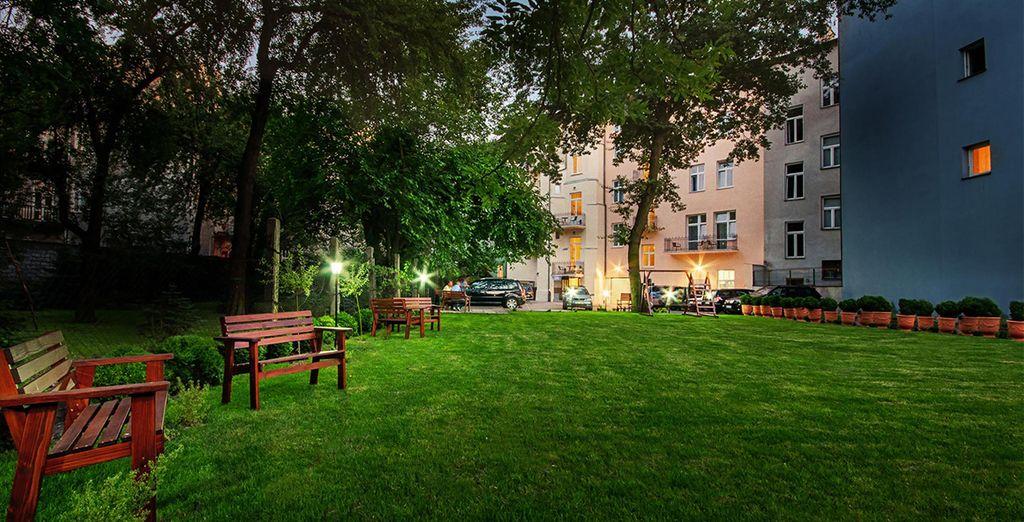 Este aparthotel se encuentra muy cerca del centro histórico