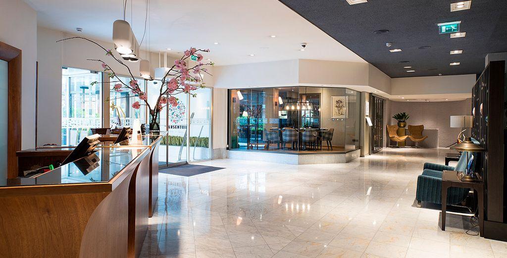Un elegante hotel de cinco estrellas