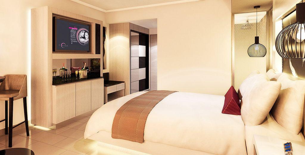 Descansa en una habitación Luxury