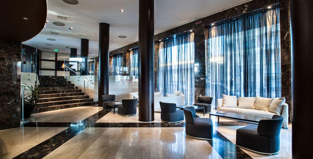 Elige la elegancia de este hotel