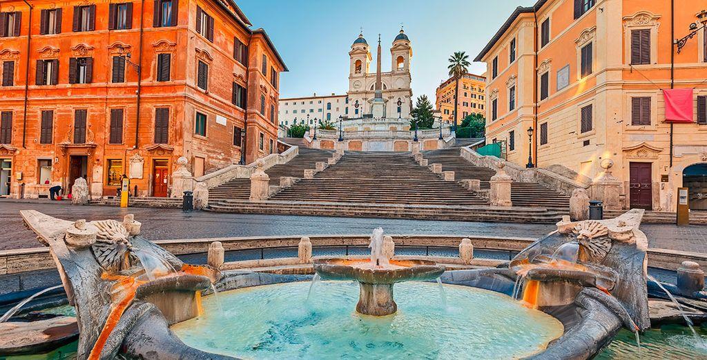 Vuela a Roma... la Ciudad Eterna