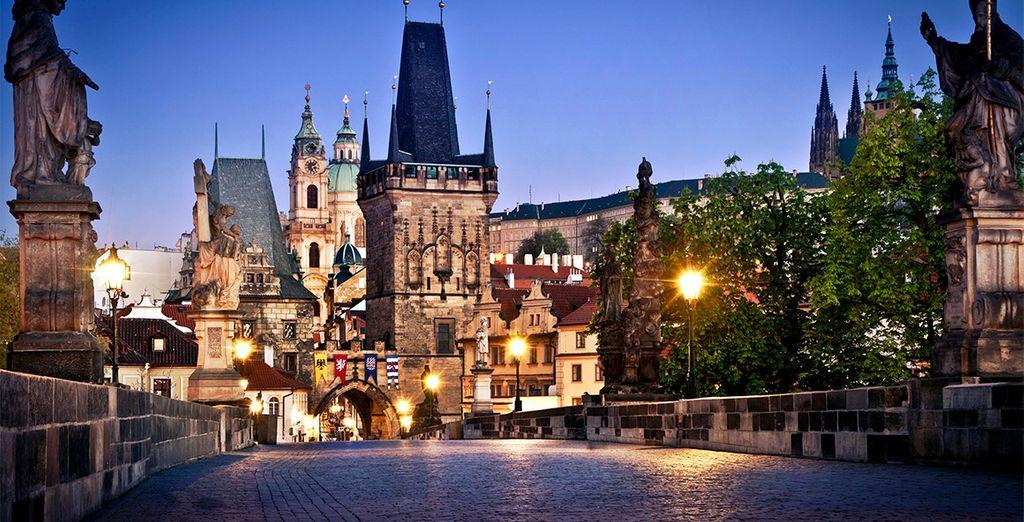 Praga cuenta con una impresionante riqueza monumental e histórica