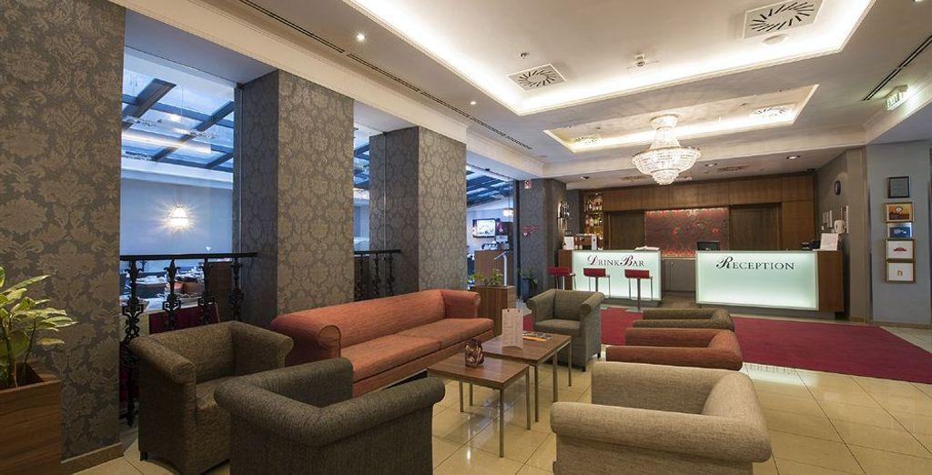 Bien podrás elegir alojarte en The Three Corners Hotel Bristol 4*