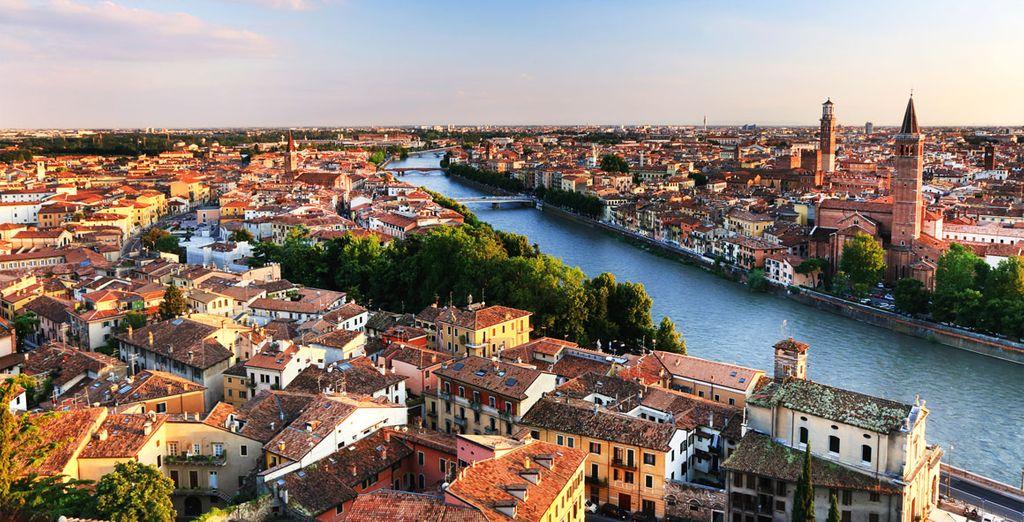 Contempla la belleza de Verona