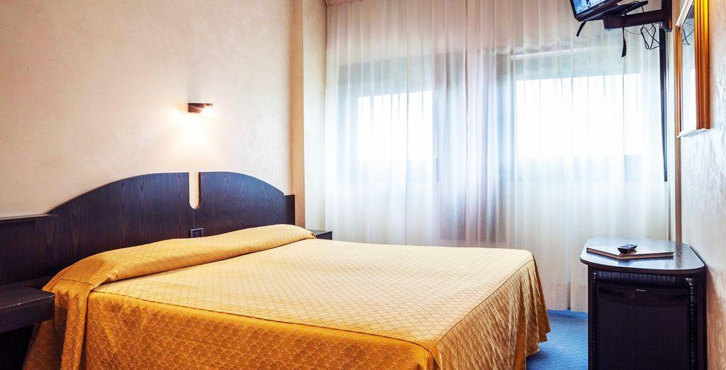 Luminosa y confortable, te sentirás como en casa en tu habitación Classic