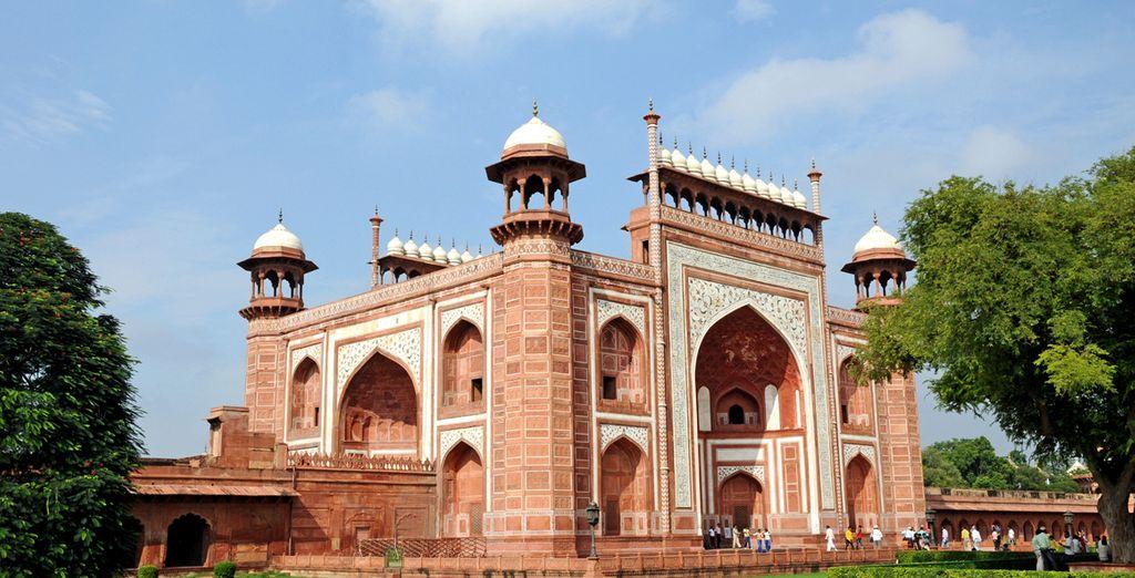 Agra es una ciudad única y fascinante...
