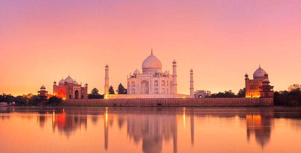 .... que esconde una de las maravillas del mundo: el Taj Mahal