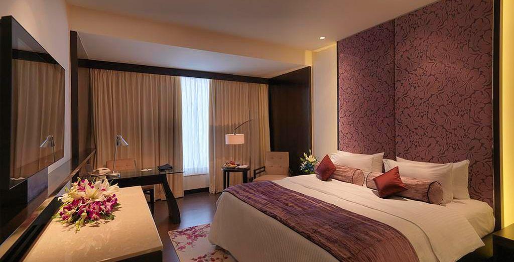 Tu elegante y confortable habitación