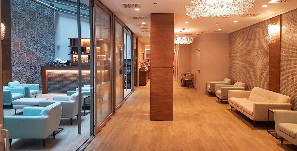 Moderno y elegante al estilo de los hoteles boutique internacionales