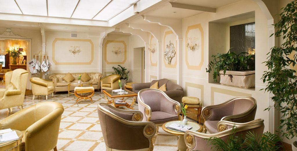 Interiores curiosos y con estilo veneciano