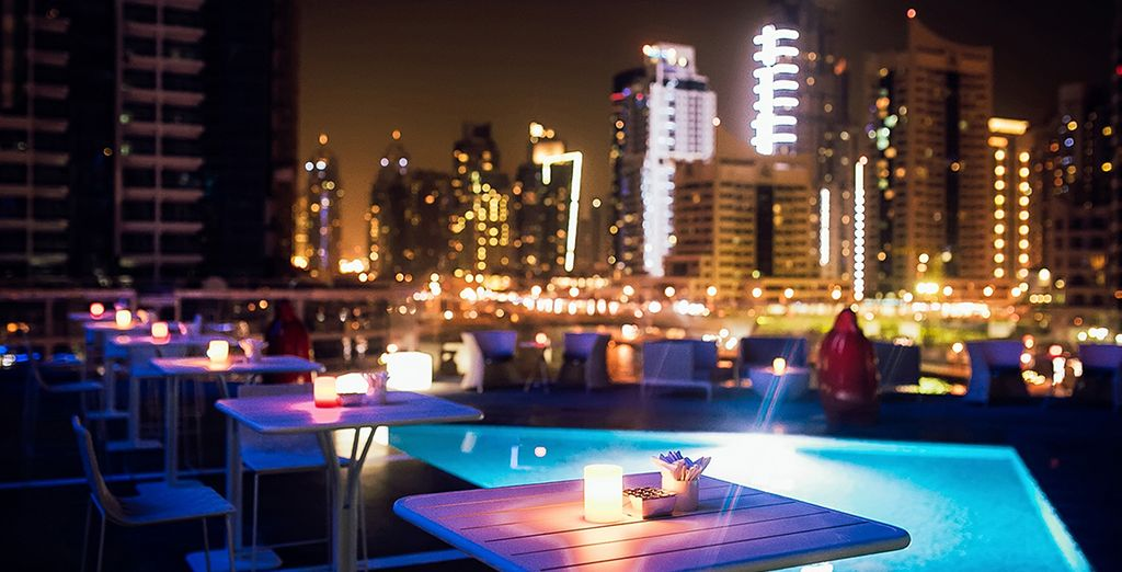 En el Hotel Intercontinental Dubai Marina 5 *