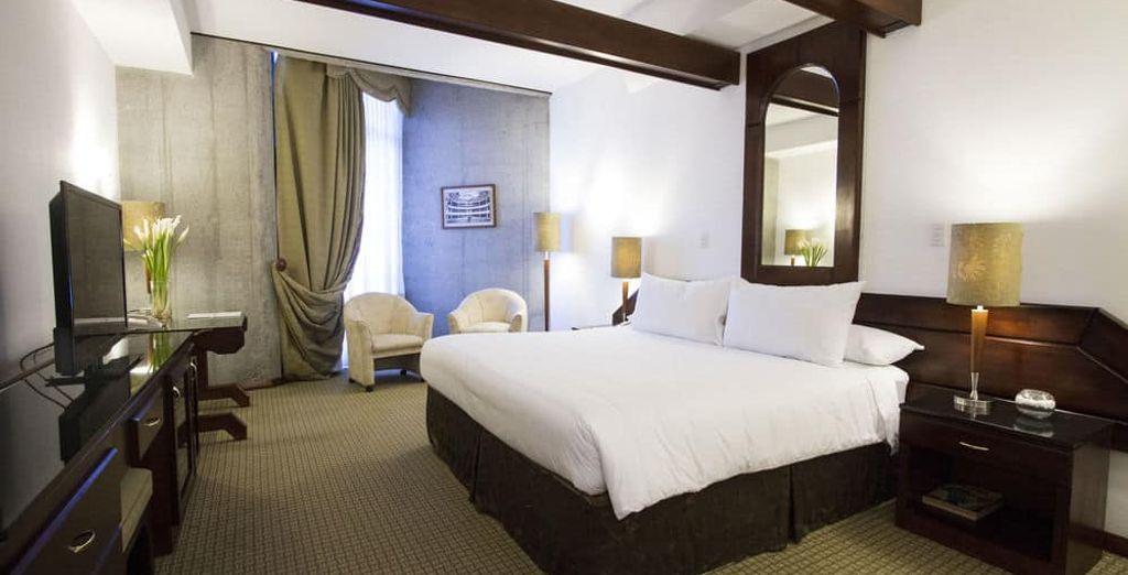 Elegantes estancias para un descanso perfecto