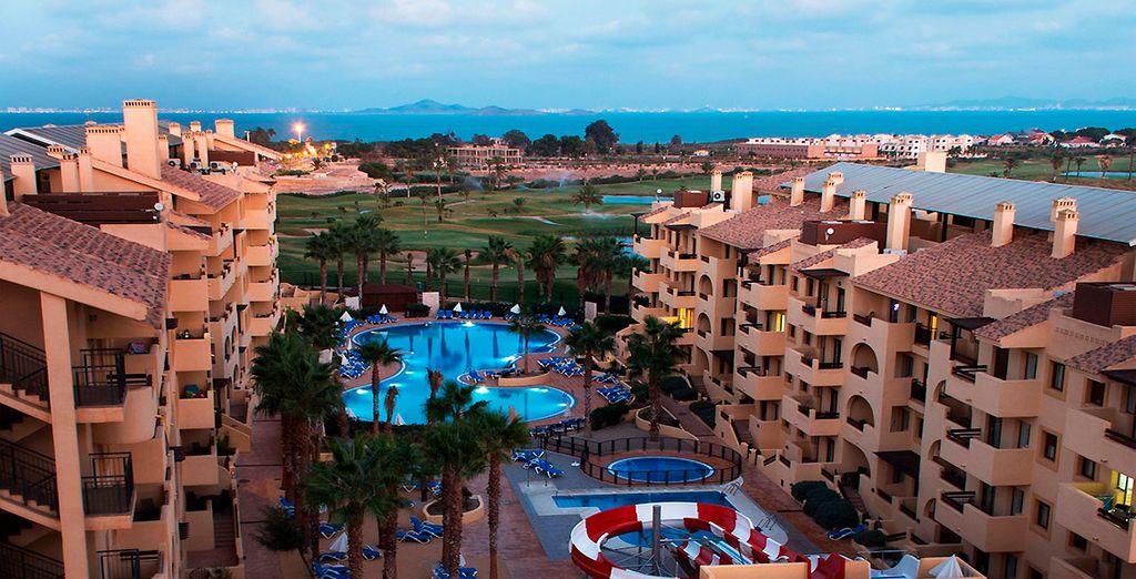 Bienvenido a Senator Mar Menor Golf & Spa 4*