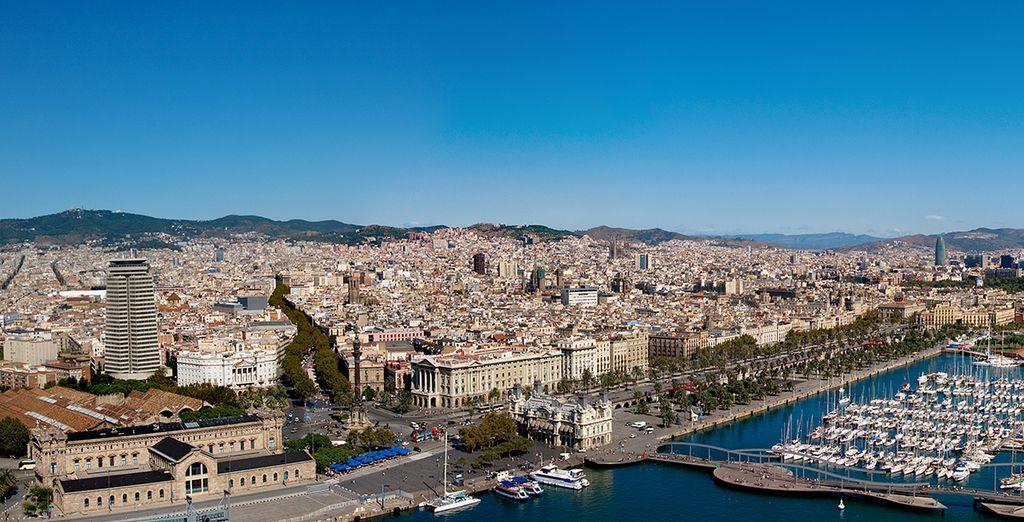 Visita de la ciudad de Barcelona... ¿Nos vamos?