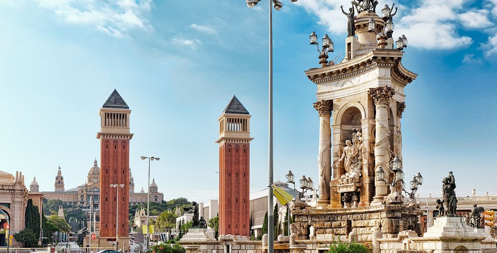 Plaza de España y Montjuic, arte y cultura en cada rincón