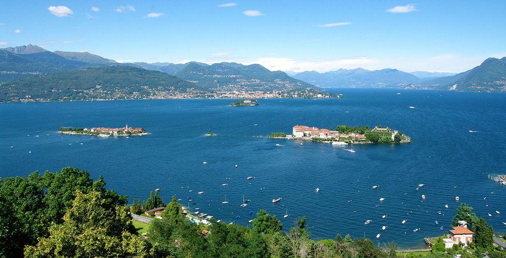 Impresionantes vistas del Lago Maggiore