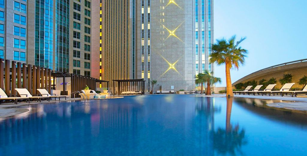Bienvenido a Sofitel Abu Dhabi Corniche 5*
