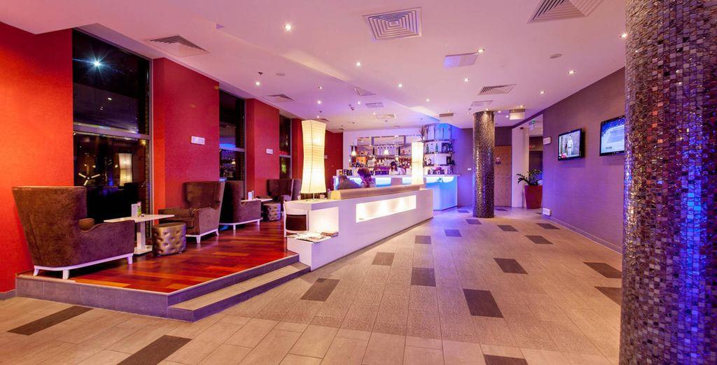 Durante tus días en Budapest descansarás en el Royal Park Hotel 4*