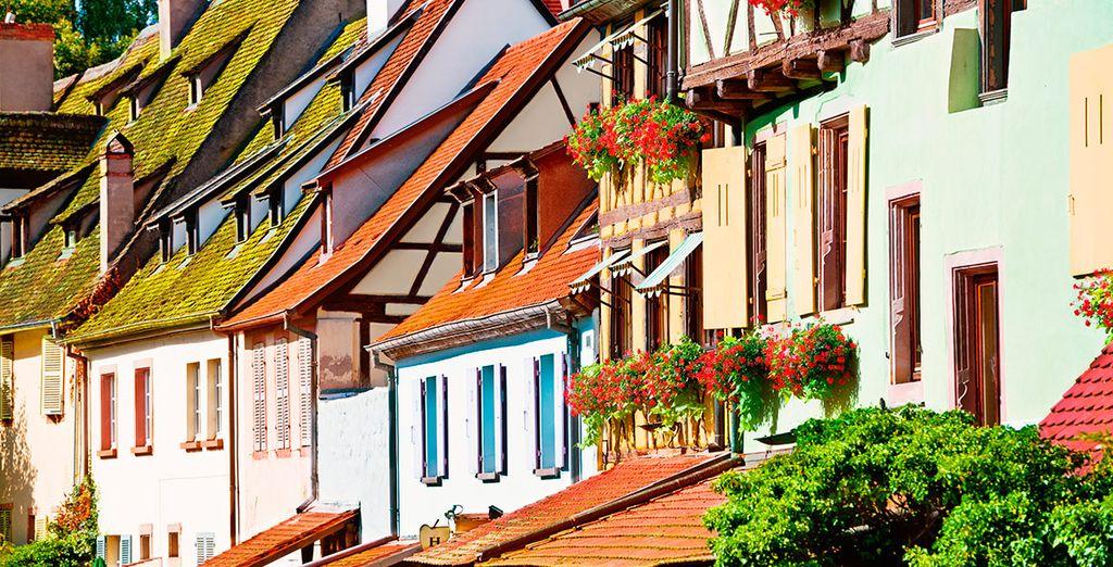 Colmar, ciudad importante de negocio vinícola desde la Edad Media
