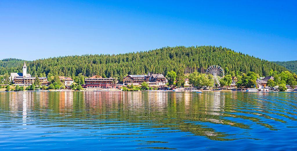 A continuación, visitaréis el lago Titisee