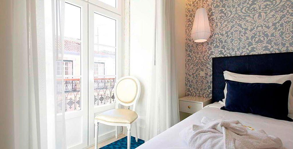 Disfrutarás de una estancia cómoda y confortable