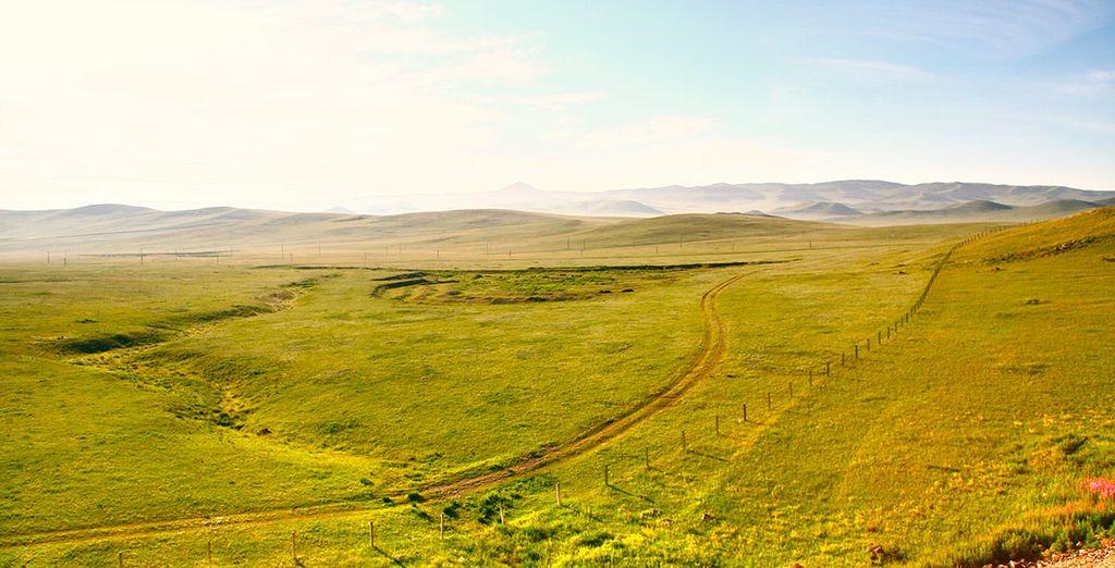 Una vez dejado atrás Rusia, os adentraréis en Mongolia