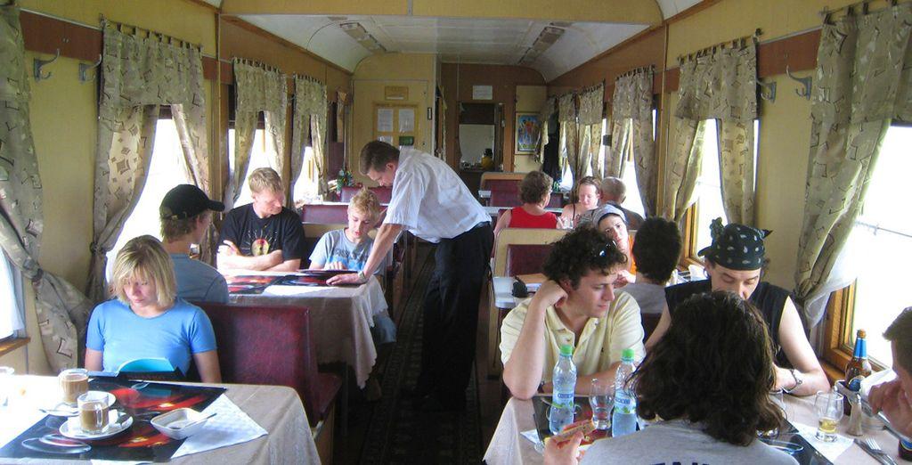 Trenes con un gran número de servicios a tu disponibilidad