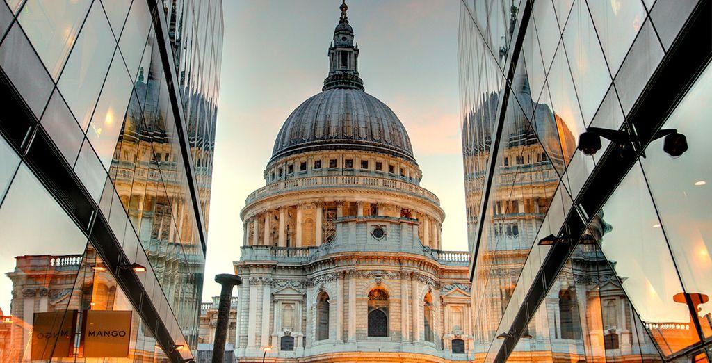 Londres se presenta como una ciudad moderna y cosmopolita
