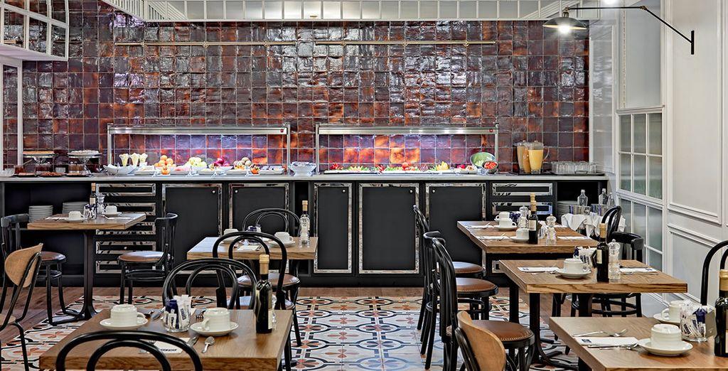 El restaurante Las Infantas recuerda a una cocina particular