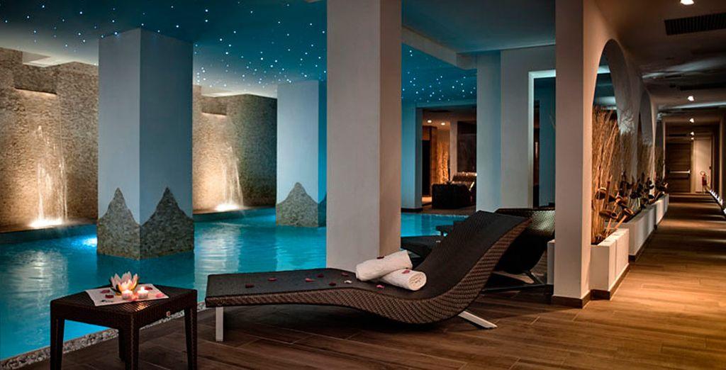 Vive una experiencia excepcional en el gran Spa del hotel