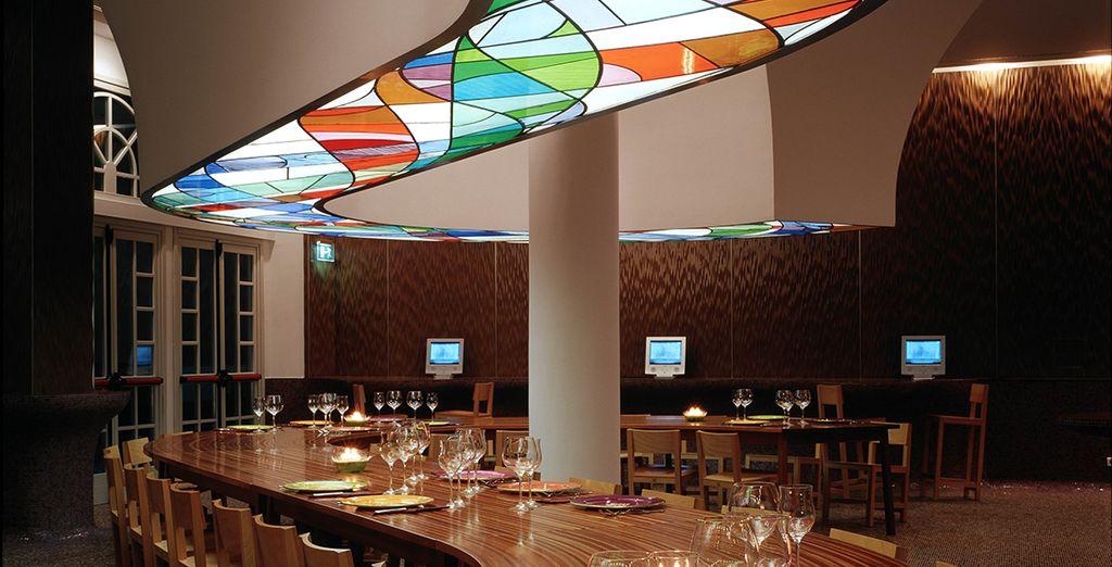 El restaurante UNA sirve especialidades de la Toscana