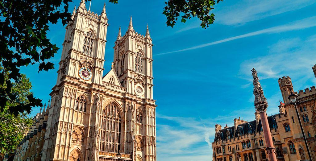 La abadía de Westminster, uno de los iconos londinenses
