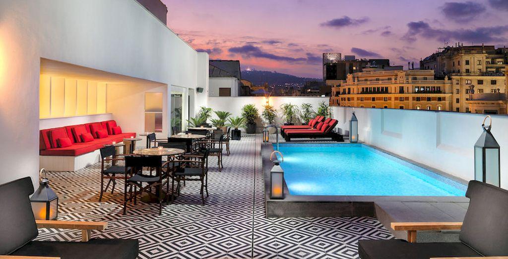 Bienvenido a H10 Metropolitan 4* Sup, un hotel con un precioso diseño