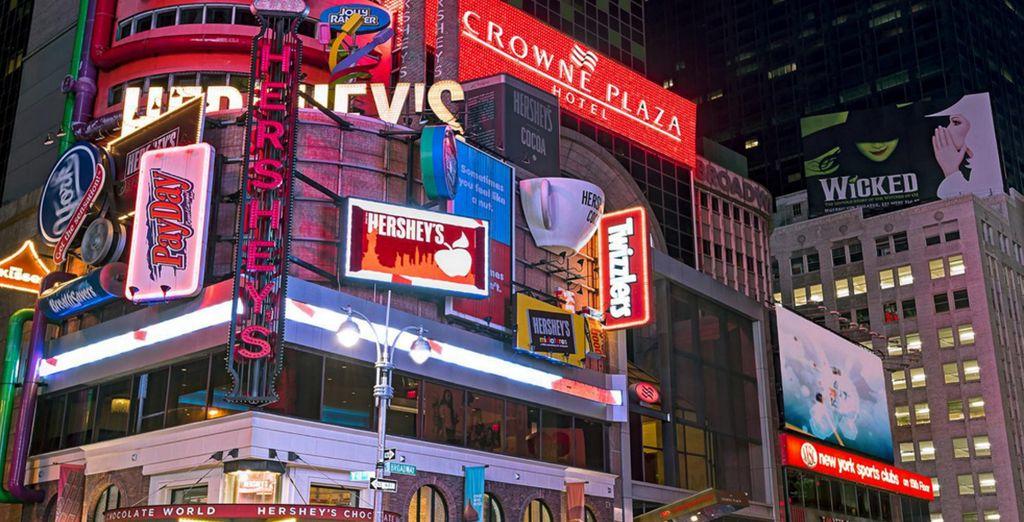 Crowne Plaza Times Square 4*, un hotel en el centro de Manhattan