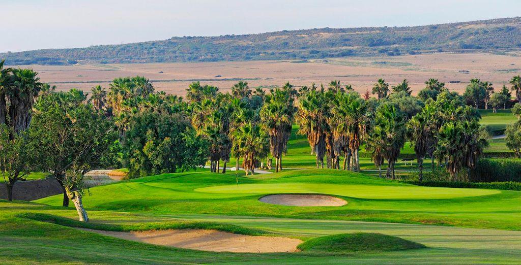 Un campo de golf increíble