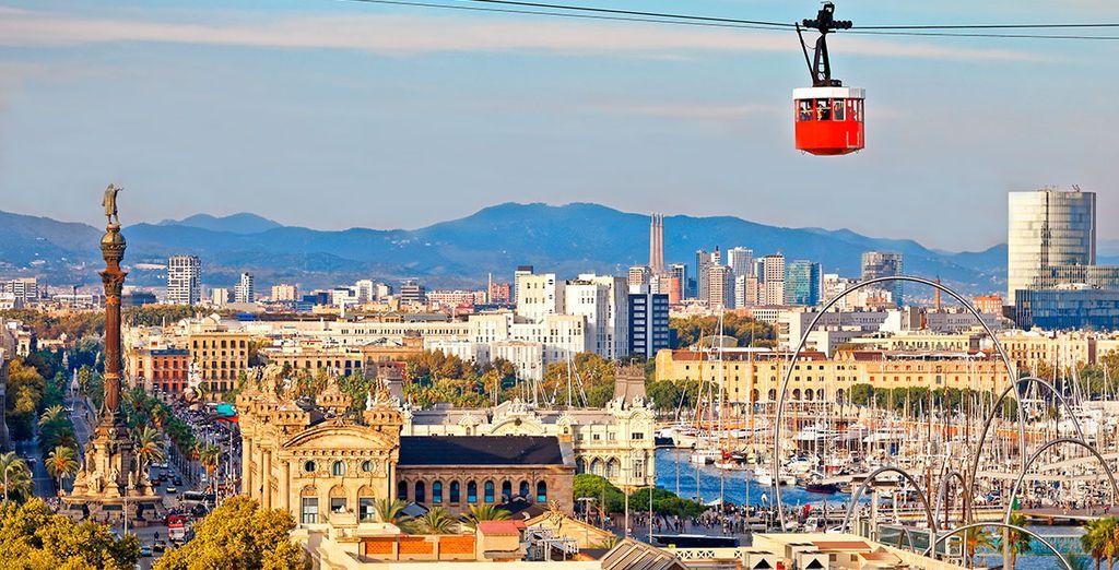 Barcelona, una ciudad moderna y contemporánea
