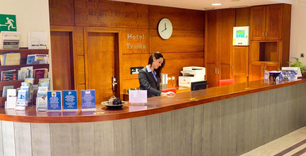 Bienvenido al Hotel Traíña 4*