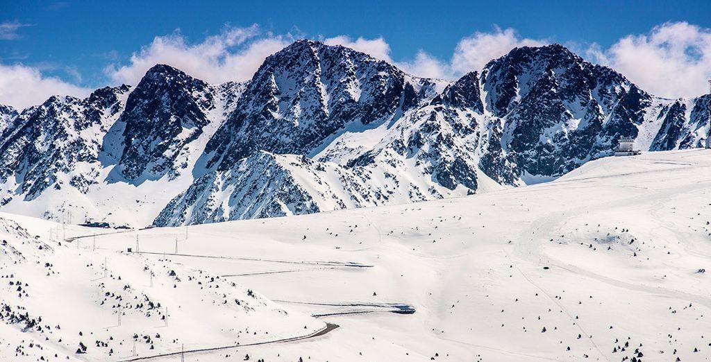 Un enclave perfecto para los amantes de la nieve