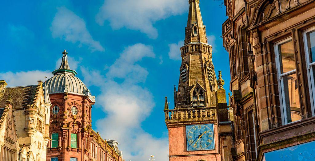 La encantadora arquitectura de Glasgow