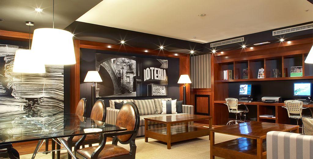Sus interiores están decorados con un gusto exquisito