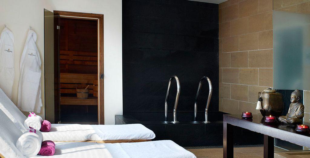Para disfrutar de las comodidades de este magnífico hotel