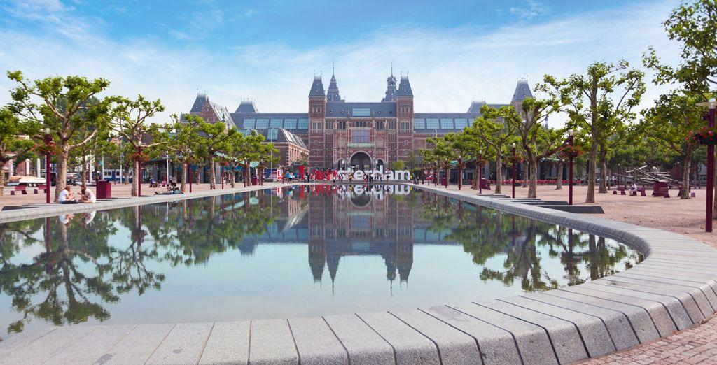 Aprovecha para visitar el Rijksmuseum, museo de arte
