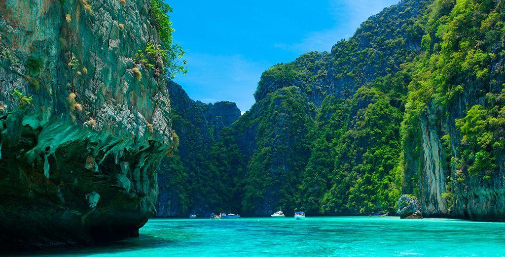 No puedes perderte la visita opcional a las islas Phi Phi